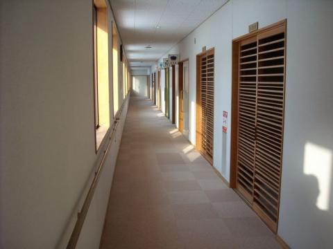 馬下温泉・2階廊下