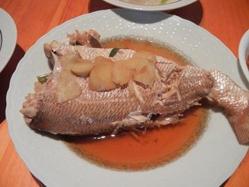 15)鯛の煮つけ