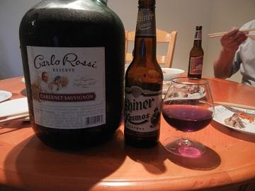 17)1ガロンワインとビール