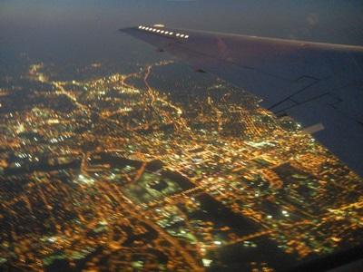 4)ナッシュビルの夜景