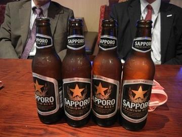 16)サッポロビールがありました。