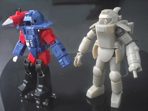 ミクロマン強化スーツ SF3D マシーネンクリーガー