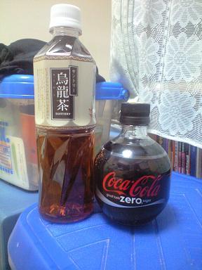ウーロン茶とコーラ