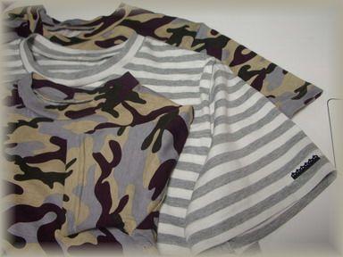 まだTシャツ3枚