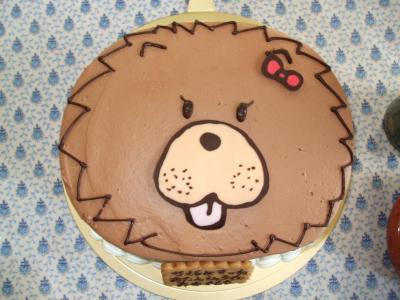 チャウチャウケーキ