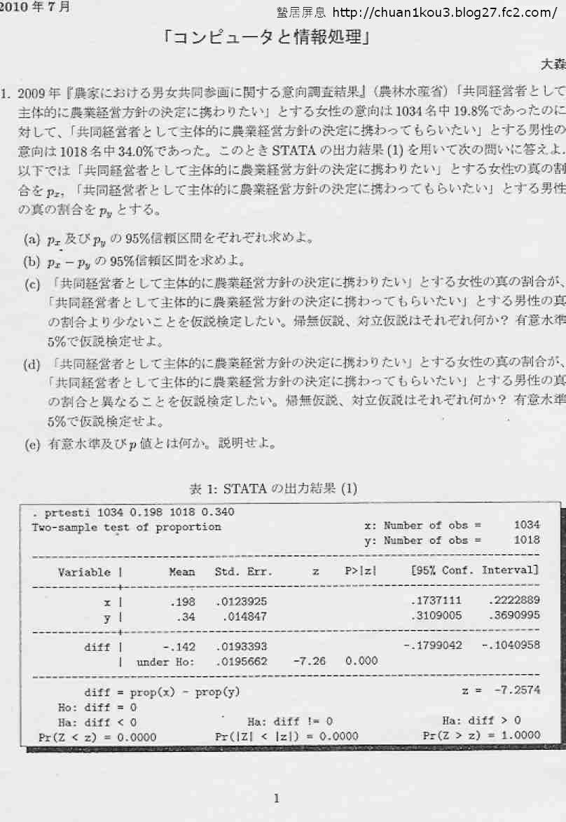 コンピュータと情報処理01