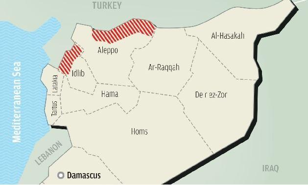 トルコによるシリア北部安全地帯