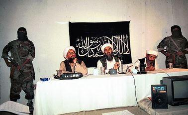 黒旗ビンラーディンとザワーヒリー1998年