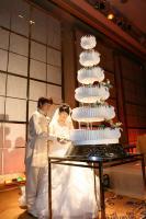 ケーキ入刀①