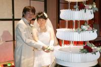 ケーキ入刀②