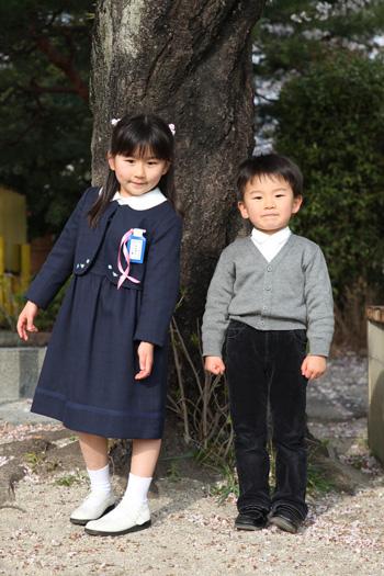 入学式当日