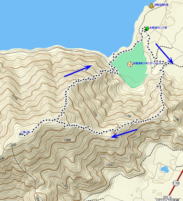 竜ヶ岳 地図