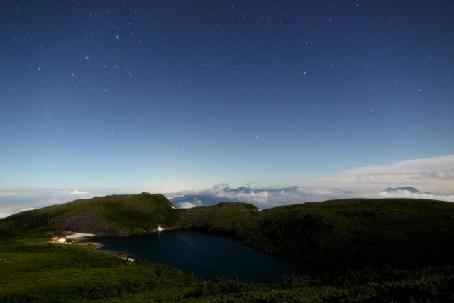 大池の星空