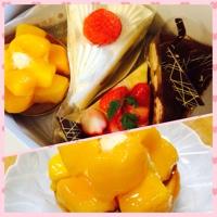 ケーキ ありがとう!!