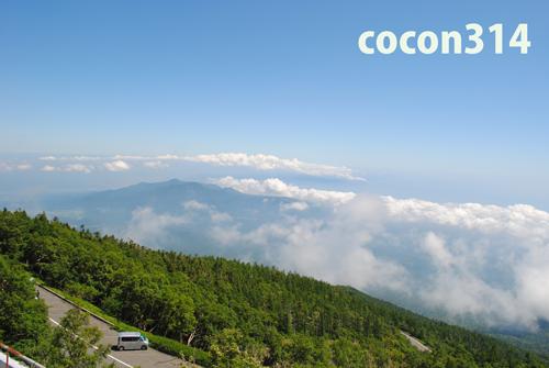 富士登山5合目-6合目