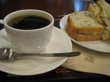 上島珈琲の朝食