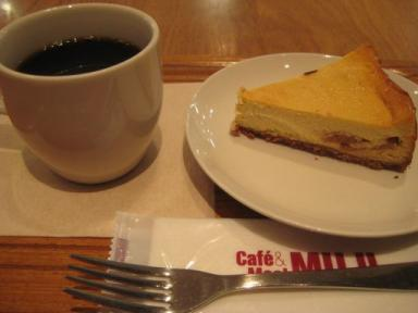 Cafe MUJIで ひと休み