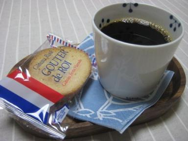 ラスクとコーヒー
