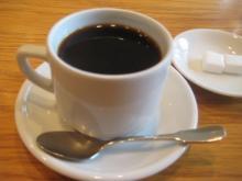 食後にいただいた美味しいコーヒー