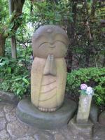 長谷寺のあじさいと和み地蔵