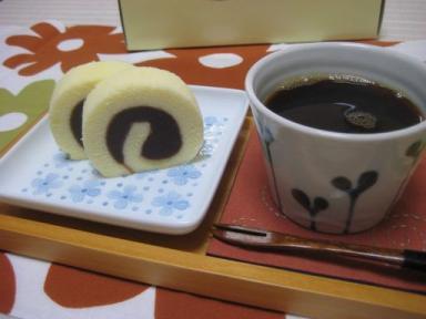 珈琲と一六タルト