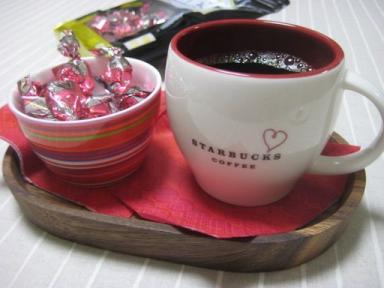 呼吸チョコとコーヒー