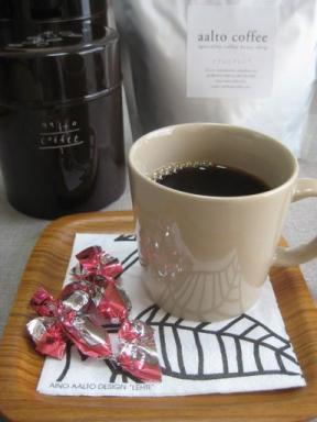 アアルトコーヒーでコーヒーtime