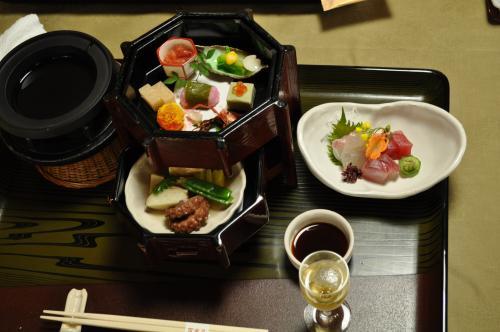 3月23日百楽荘お料理1