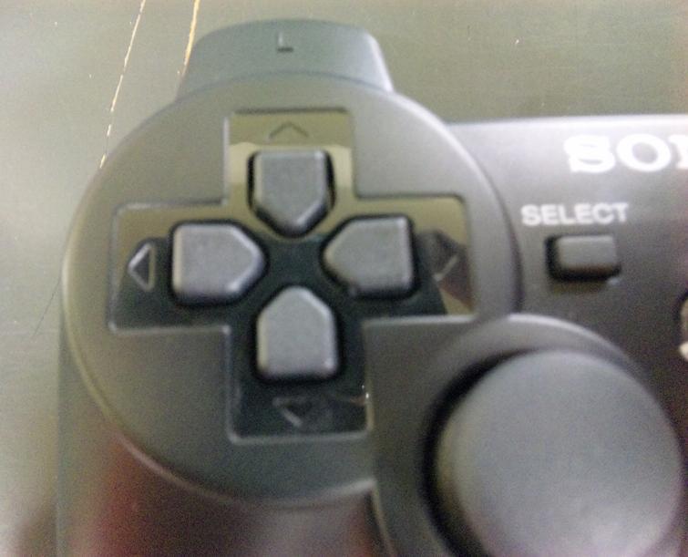 PS3 コントローラー 十字キー