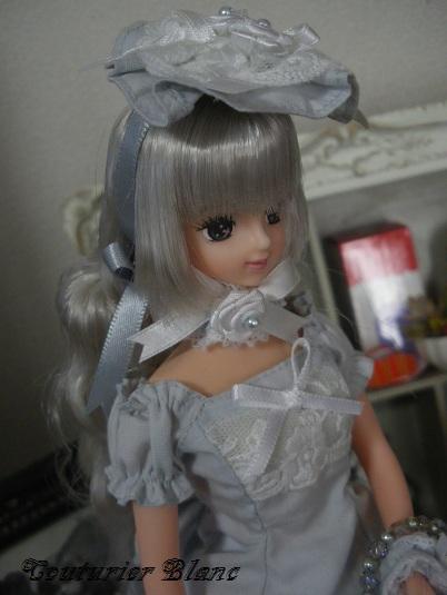 ジェニーサイズ ブルーグレードレスセット1