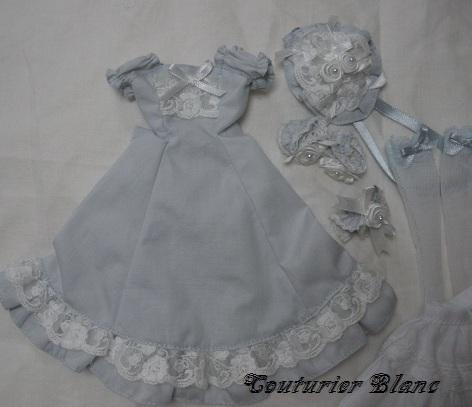 ジェニーサイズ ブルーグレードレスセット5