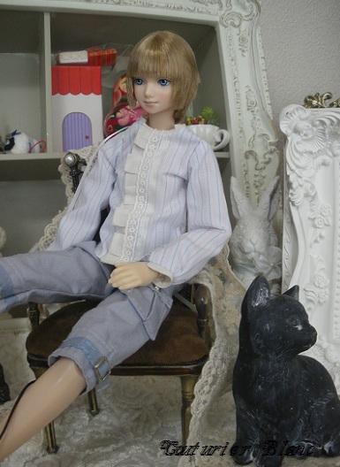 黒猫と麗人・1