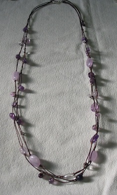 編み編みネックレス 2