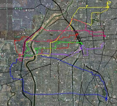 100609 自転車Map
