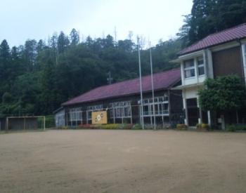 木間小 小学校校舎