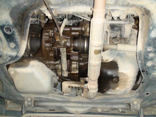EFエンジン オイル漏れ