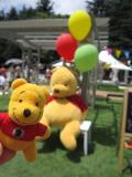 2012プーさんイベント庭