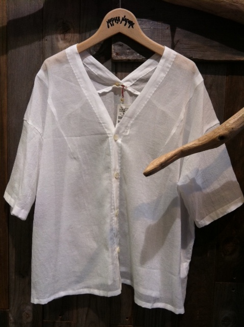 OKURA コットンシフォンドロップシャツ