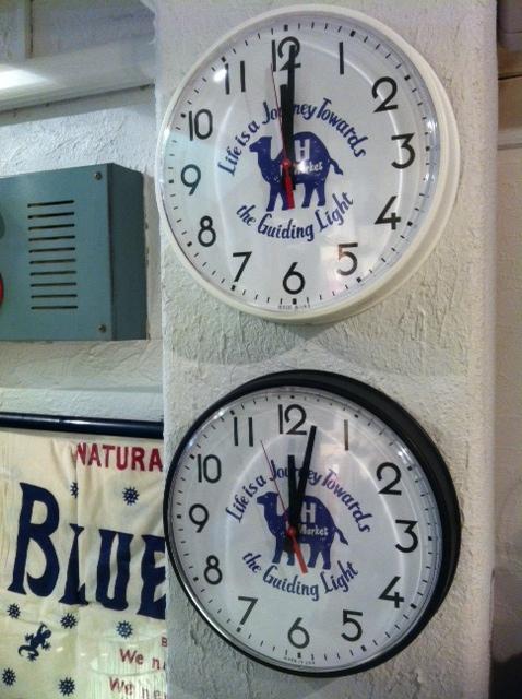 ラクダ時計