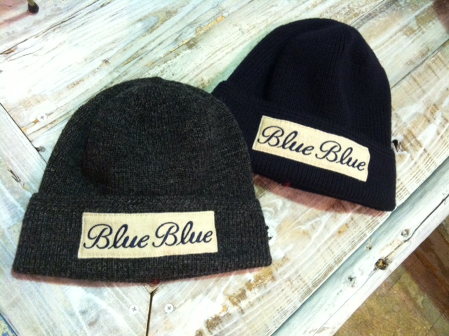 BLUE BLUE KNIT CAP 13