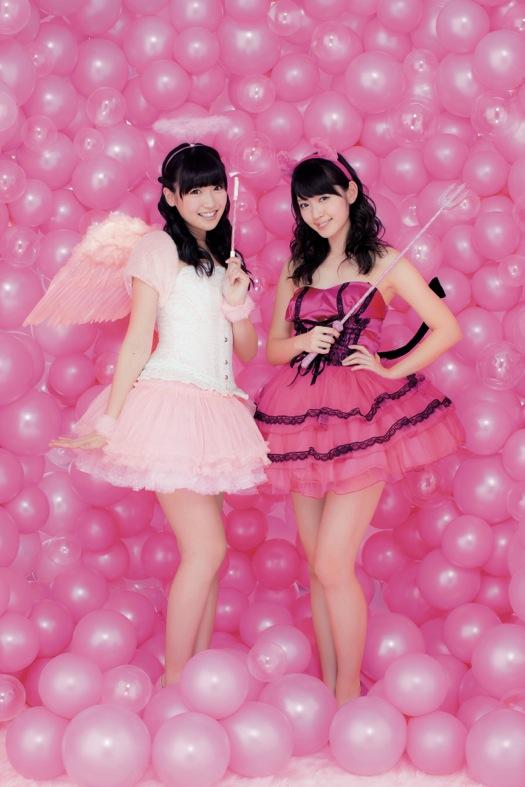 ピンク対決!