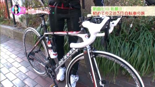 自転車はこんな感じです。