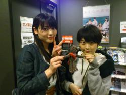 劇プロブログにまいみぃ&マリカちゃん