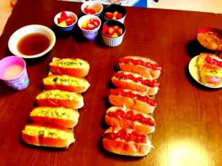 岡井ちゃん手作り朝ごはん