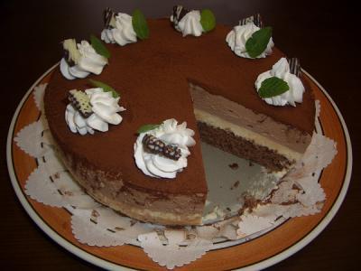 チョコムースケーキ②