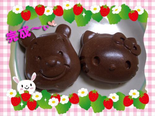 豆腐チョコババロア