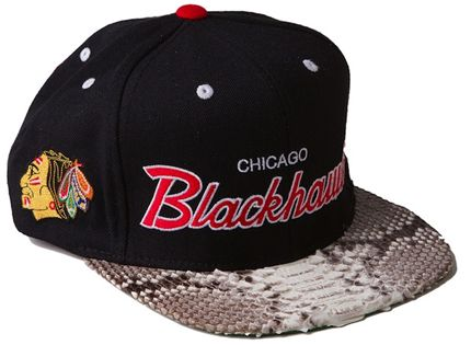 Chicago-Blackhawks-Just-Don-snakeskin-snapback-mitchellness-capCreepShow CWC EASTER KASHIWAALBUM