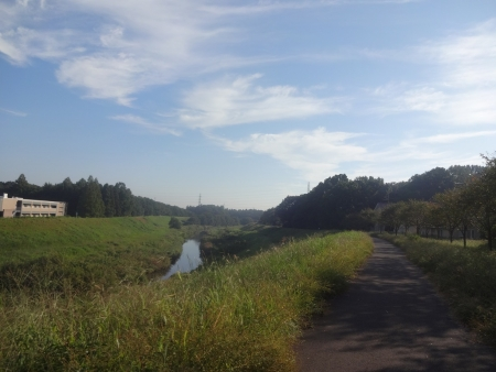 017利根運河を利根川方面へ