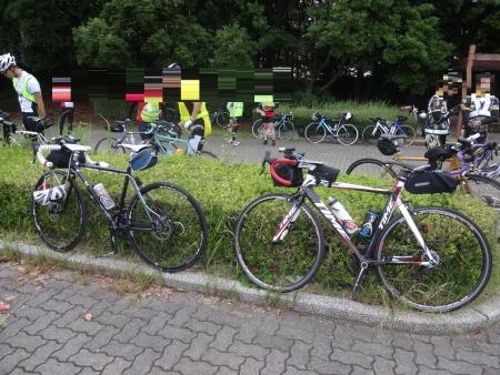018自転車仲間の来瀬くん登場