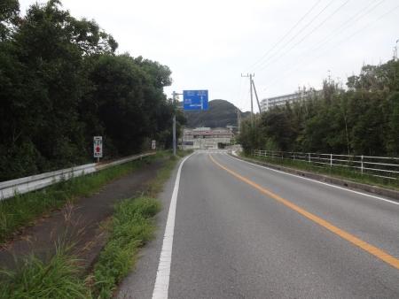 106この先を左折、洲崎方面へ